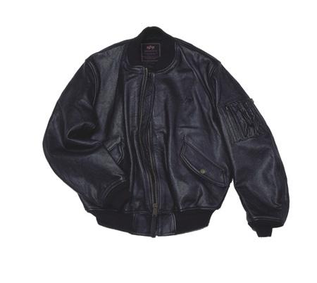 Оригинальная летная кожаная куртка Alpha MA-1. Куртка сделана из...